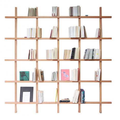 Bibliothèque en Bois Mike de la marque Compagnie sur LaCorbeille.fr