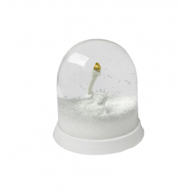 Statue of Liberty Snow storm Globe