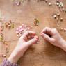 """Necklace """"Petals"""""""