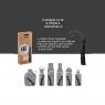 Charbon avec spirale d'adaptation pour purifier l'eau de la marque Black and Blum sur LaCorbeille.fr