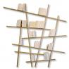 Grande Bibliotheque bois chêne design Mikado de la marque Compagnie sur laCorbeille.fr
