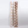 Echelle-Bibliothèque hêtre Hô design Jocelyn Deris sur LaCorbeille.fr