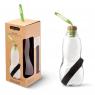 Bouteille avec filtre à charbon rechargeable Eau Good de Black and Blum sur LaCorbeille.fr