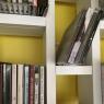 Echelle-Bibliothèque blanche 3/4 Hô Plus design Jocelyn Deris sur LaCorbeille.fr