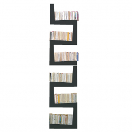 Bibliothèque blanche TwoSnakes design Benjamin Faure sur LaCorbeille.fr
