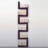 Bibliothèque TwoSnakes en MDF laqué design Benjamin Faure sur LaCorbeille.fr