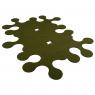 """Felt carpet """"Molecule"""" x6"""