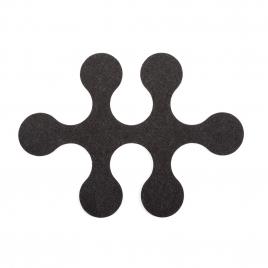 Tapis en feutre de 6 pièces Molécules sur LaCorbeille.fr