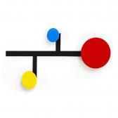 Patère modulable Piet design Didier Chaudanson sur LaCorbeille.fr