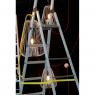 Luminaire design Suspension design blanche Light Cage design Jocelyn Deris sur LaCorbeille.fr