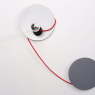 Wall lamp SPOTLIGHT : grey & colour(s)