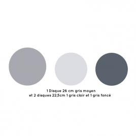 Applique Spotlight grise design Bebnjamin Faure sur LaCorbeille.fr