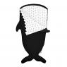 Sleeping bag Shark for 2 - 5 years