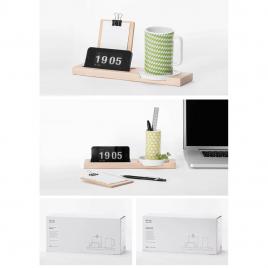 Set de bureau avec mug Kagome de la marque japonaise Ideaco sur LaCorbeille.fr