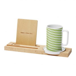 Kagome desk set + mug