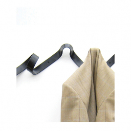 Ribbon coat-hanger