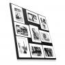 Pêle-mêle cadre photos avec magnets M9 - Design Presse Citron sur LaCorbeille.fr