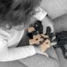 Jeu en bois original Woody, le mouton à tricoter de la marque Les Jouets Libres sur LaCorbeille.fr