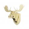 Trophée design en bois Orignal Design Big Game pour Moustache sur LaCorbeille.fr