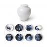 Set de contenants en mélamine Osorio Yuan - design Ibride sur LaCorbeille.fr