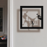 Sticker frame shadow Romeo and Juliette