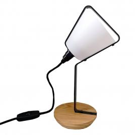 Petite lampe à poser Cône