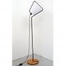 Lampadaire design en bois et métal Cône design Jocelyn Deris sur LaCorbeille.fr