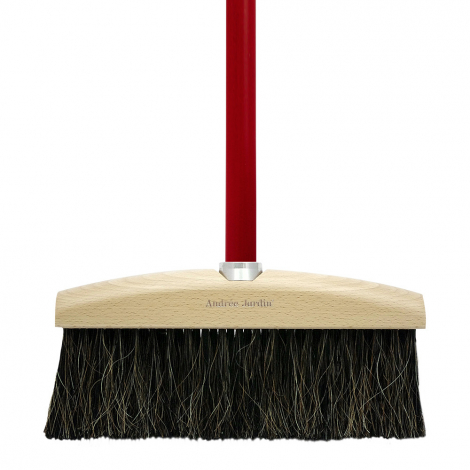 Design broom with colored handles