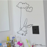 Sticker Lapin nuage / Cloud rabbit