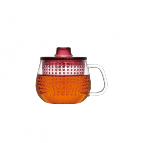 Tea cup with strainer and lid Unimug