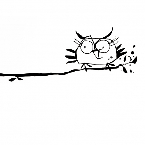 "Sticker ""The Owl"""