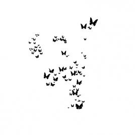 """Sticker """"Tous les Papillons"""""""