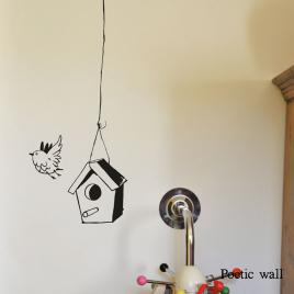 "Sticker ""La Mangeoire"" de la Marque Poetic wall® sur LaCorbeille.fr"