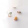 Petite étagère en hêtre massif à visser Balcon design Inga Sempé pour Moustache sur LaCorbeille.fr