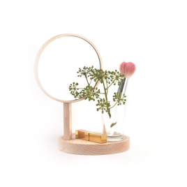 Belvédère : shelf + mirror