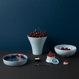 Service de table empilable Ming Abysses Design Ibride sur LaCorbeille.fr