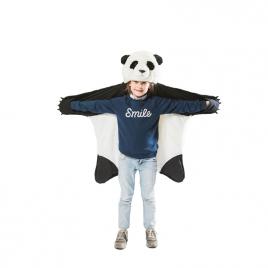 Panda : déguisement, tapis et plaid