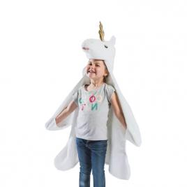 Licorne : déguisement, tapis et plaid