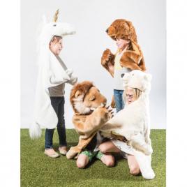 Lion : déguisement, tapis et plaid de la marque Wild and Soft sur LaCorbeille.fr