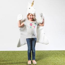 Licorne : déguisement, tapis et plaid de la marque Wild & Soft sur LaCorbeille.fr