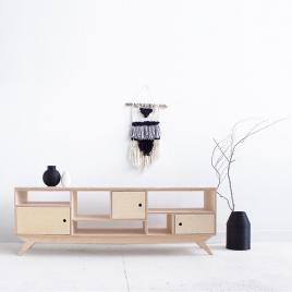 Buffet bas design inspiration scandinave sur LaCorbeille.fr