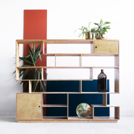 Bibliothèque MULGA de la marque Wood Republic sur LaCorbeille.fr