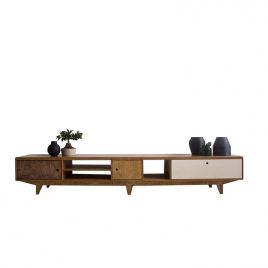 Design low sideboard in plywood