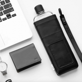 Sleeve for Reusable Slim Bottle by Memobottle