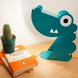 Lampe Dinosaure Bleu de la marque Bleu Carmin sur LaCorbeille.fr