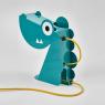 Lamp Blue Dinosaur