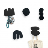 Set of 5 Coat Hooks ENRI