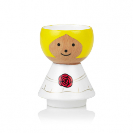 Wood egg cup Bordfolk for GIRL by Lucie Kaas