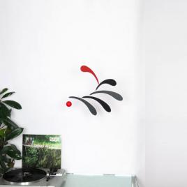 Mobile abstrait Flowing Rythm de la marque Flensted sur LaCorbeille.fr