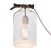 Bell Glass Lamp by Raumgestalt on LaCorbeille.fr